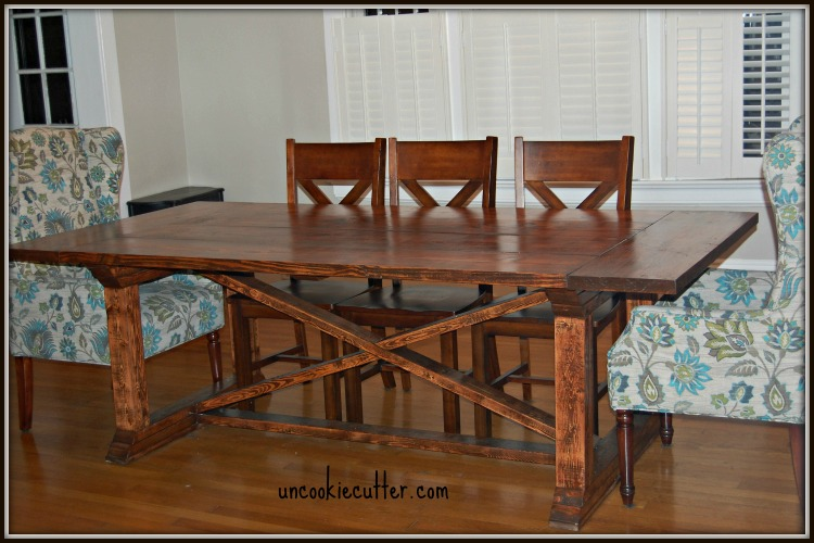 Use Ana White plans to create this DIY table with a removable top - Uncookiecutter.com