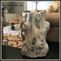 18 Great Ways to Upcycle Tree Stumps - UncookieCutter for Hometalk
