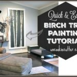 Birch Tree Paintings Tutorial