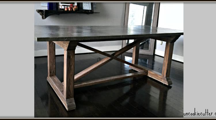 Concrete Dining Table – DIY for less