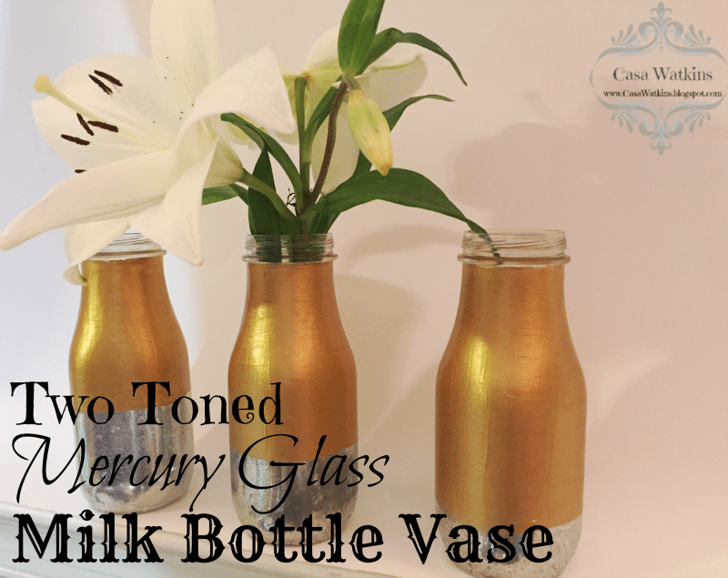 Two Toned Milk Vase - CasaWatkins.net