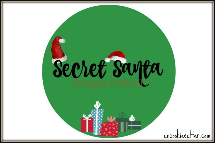 Secret Santa Blogger Edition - UncookieCutter.com