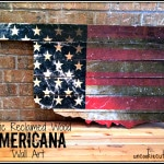 Rustic Americana Wall Art: January Create and Share