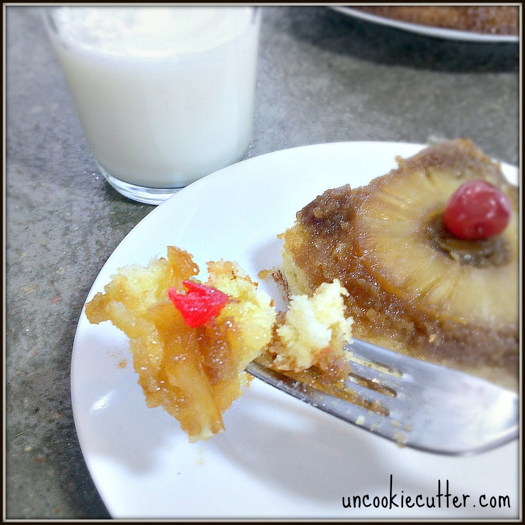 Pineapple Cake - You Link It, We Make It Link Party - UncookieCutter.com