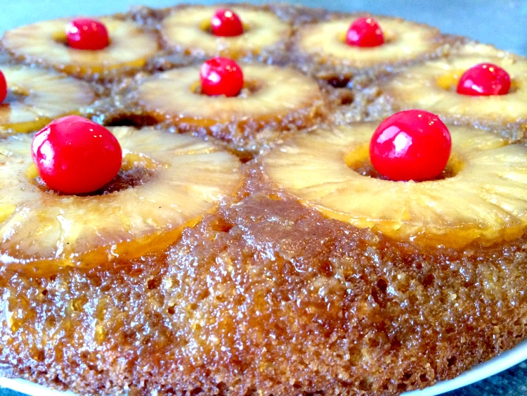 Pineapple Upside Down Cake - You Link It, We Make It Link Party - UncookieCutter.com