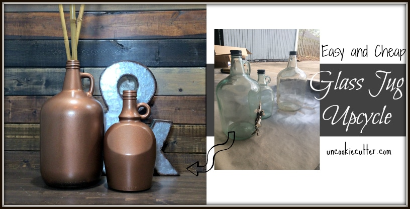 Glass Jugs – Easy Upcyle Project