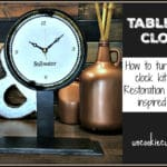 Tabletop Clock – March Create and Share