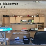 Home Office Makeover -One Room Challenge Week 1