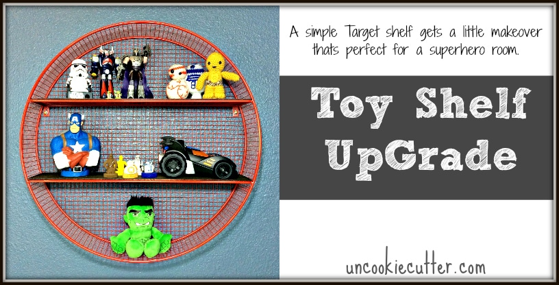 Toy Shelf – Inspired by Land of Nod