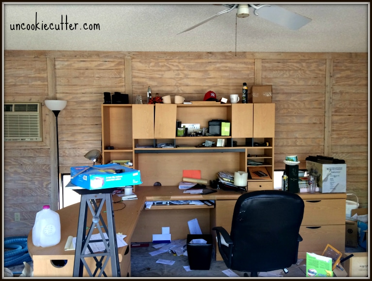For my first One Room Challenge, I choose to attempt a home office makeover. I hope you'll join me on the transformation. UncookieCutter.com