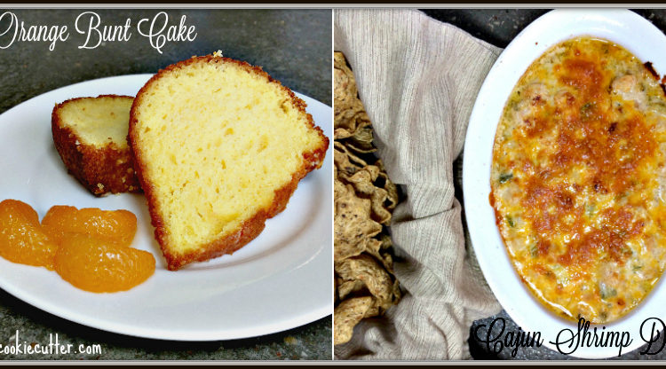 Orange Bunt Cake & Cajun Shrimp Dip - You Link It, We Make It #14