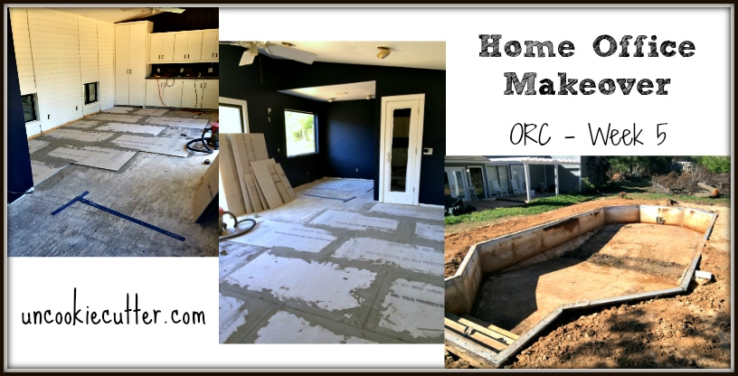 Home Office Makeover - ORC Week 5 - UncookieCutter