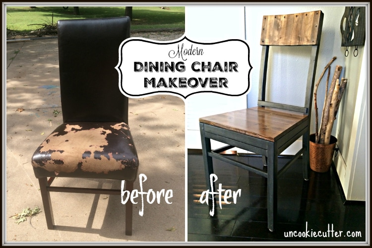 Modern Dining Chair Upcycle