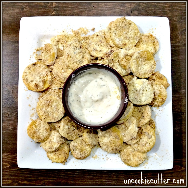 Squash Chips - This weeks feature at the You Link It, We Make It recipe link party. Uncookie Cutter