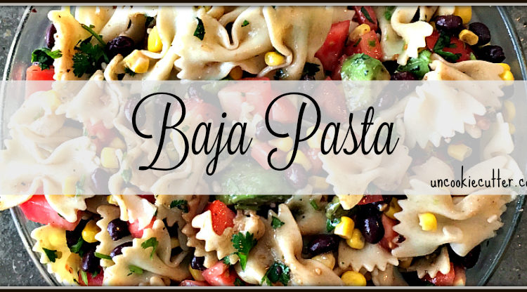 Baja Pasta - You Link It, We Make It link party - UncookieCutter.com