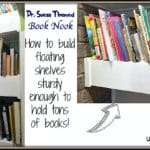 Dr. Suess Book Nook – Floating Shelves
