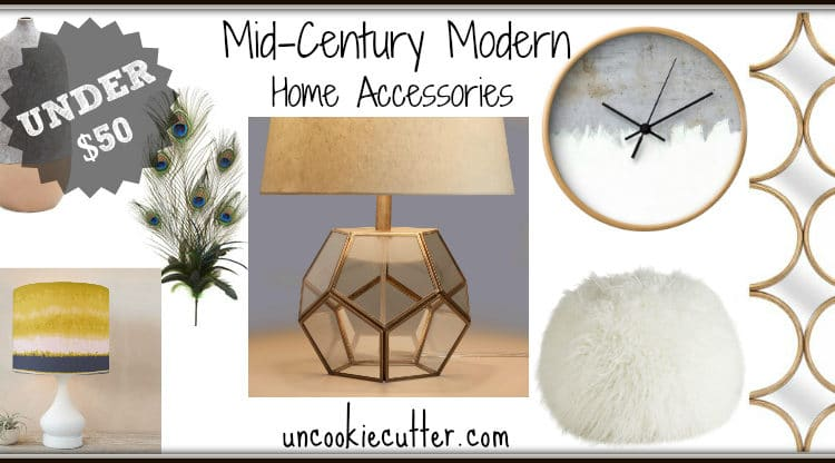 Mid-Century Modern Accessories for Under $50