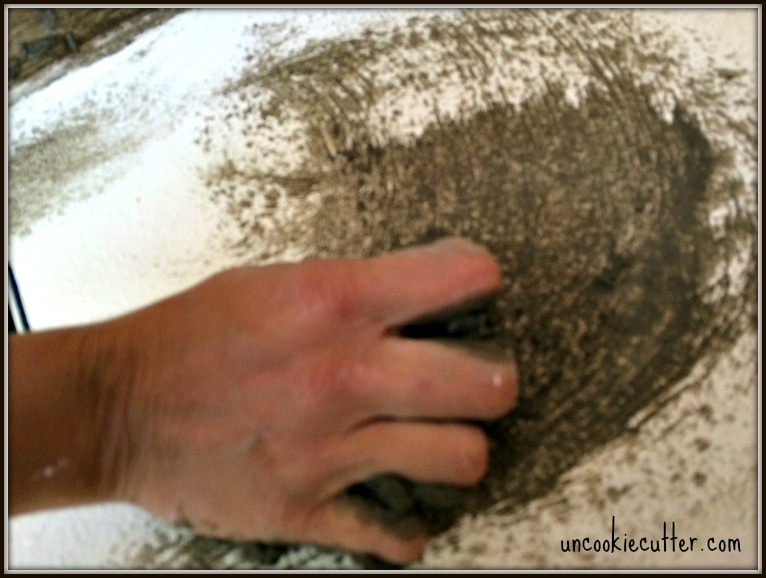 How to apply a concrete overlay for countertops, backsplashes and walls - UncookieCutter.com