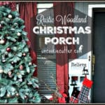 Rustic Christmas Front Porch