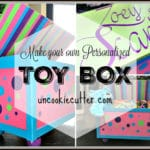 Toy Box – A homemade gift DIY project