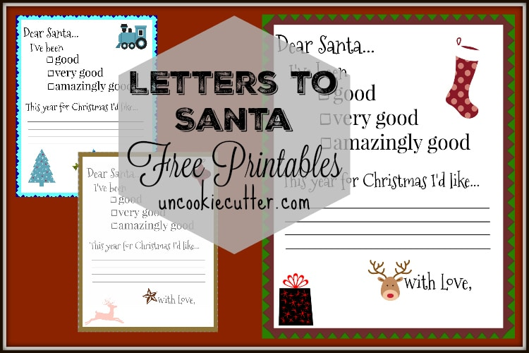 Santa Letters – Free Printables for your little ones!