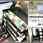 Vinyl Organization Station – A Quick & Easy DIY