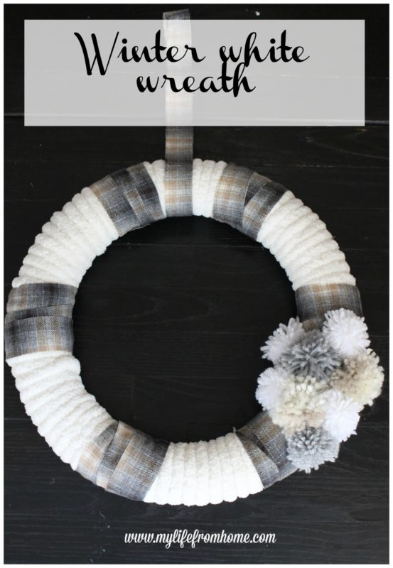 My Life from Home - Winter White Wreath