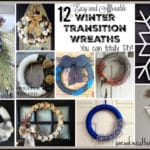 Winter Wreaths – Easy and Affordable DIYs