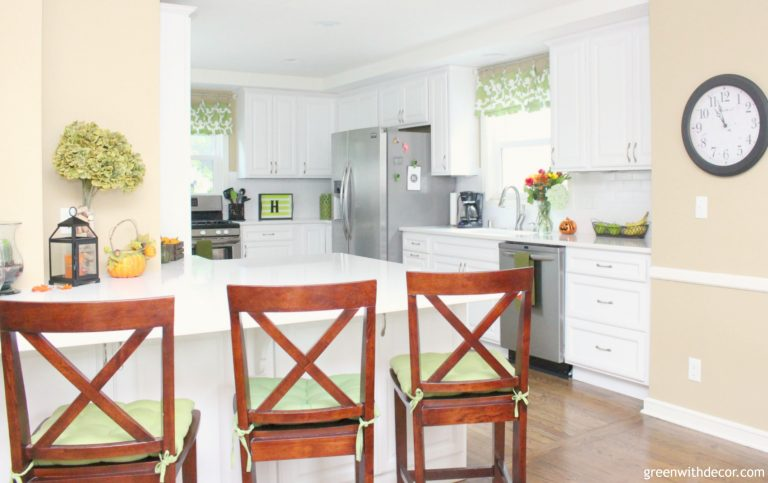 Full Home Tour - Green with Decor
