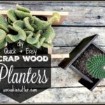Wooden Planters – Quick and Easy DIY