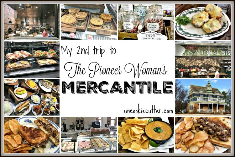 I visited the Pioneer Woman Mercantile...Again! Read all about my experience - UncookieCutter.com