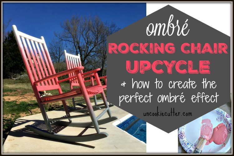 Ombré Rocking Chairs – How to Create the Perfect Ombré