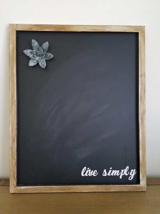 The Honeycomb Home - DIY Customized Magnetic Chalkboard