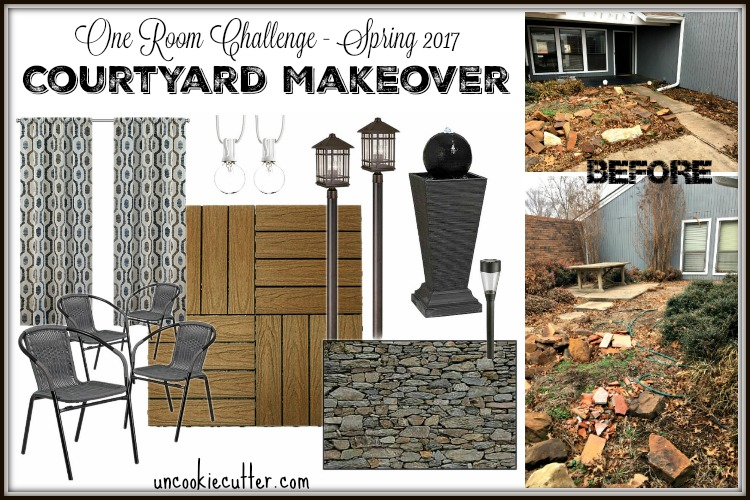 Courtyard Makeover – Week 1 – ORC Spring 2017